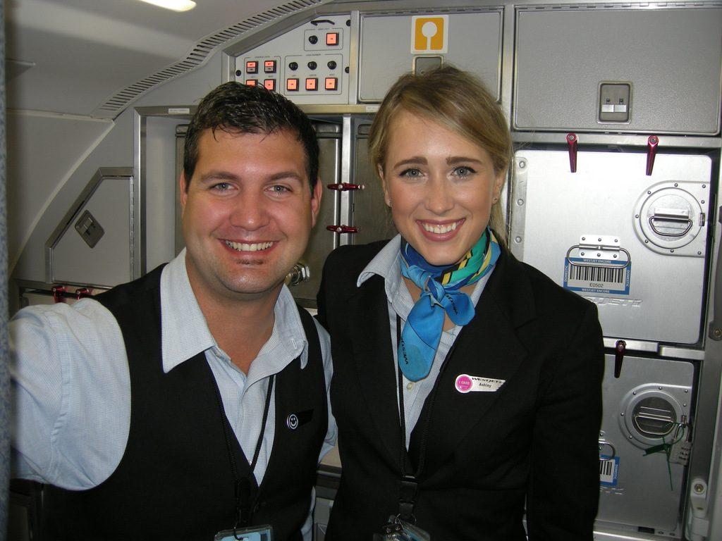 Flight Attendants Andrew & Ashley