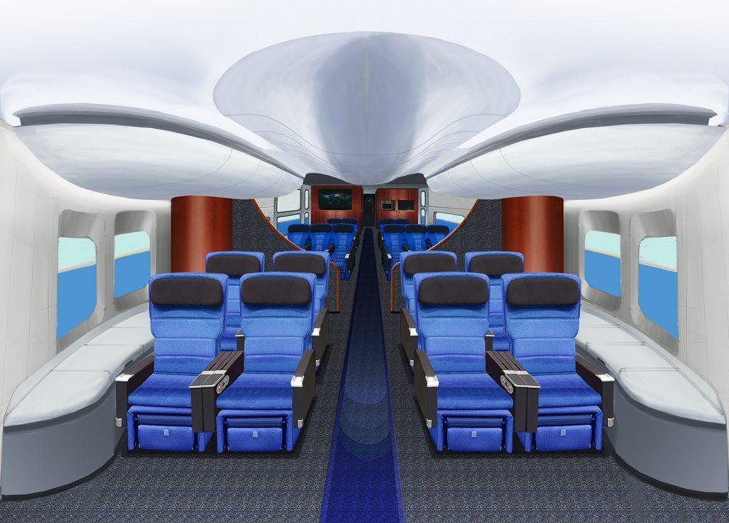 LHM-1 passenger cabin. Image: Lockheed-Martin