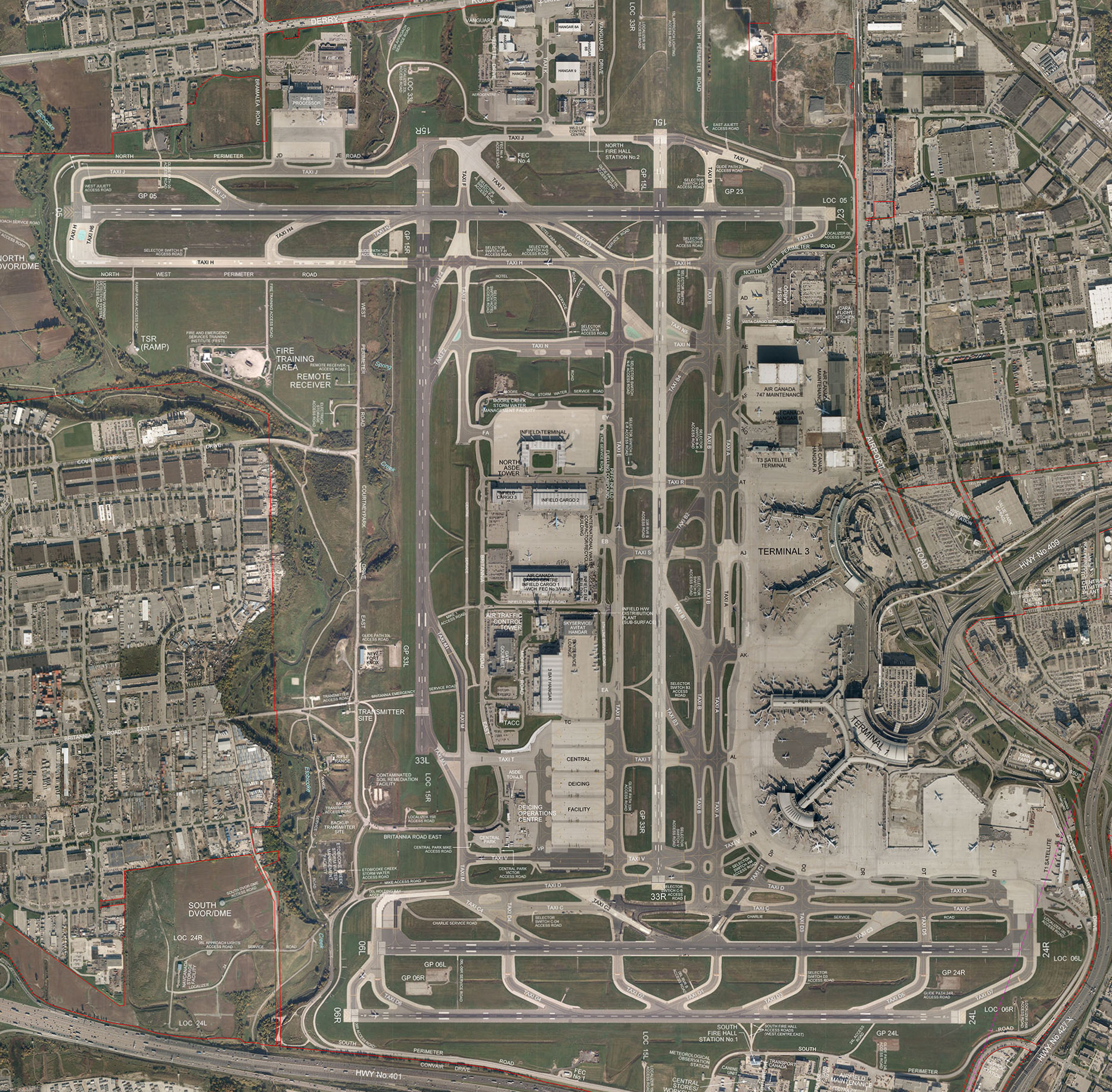 Toronto Pearson International Airport: Toronto Pearson International Airport, Then And Now: Part